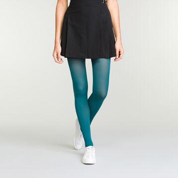 Panti para mujer verde azulado opaco aterciopelado Dim Style, , DIM