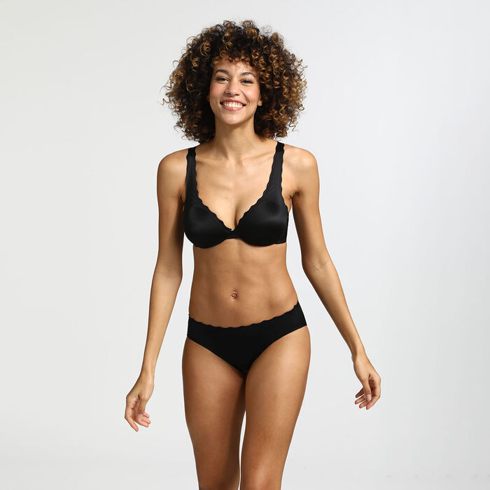 Braguita invisibilidad total negra Beauty Lift, , DIM