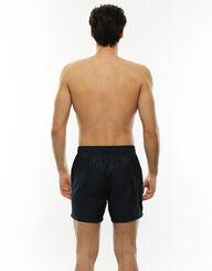 Bañador hombre blanco y azul marino de secado rápido, , LOVABLE