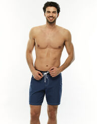 Bañador para hombre azul denim de secado rápido, , LOVABLE