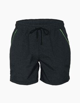 Bañador hombre gris oscuro con bordes verdes, , LOVABLE