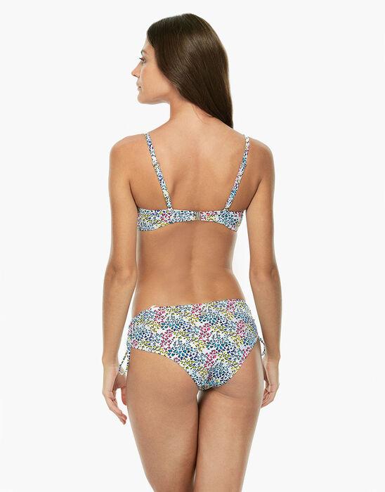 Bikini Slip Alto Maculato Multicolor in microfibra-LOVABLE