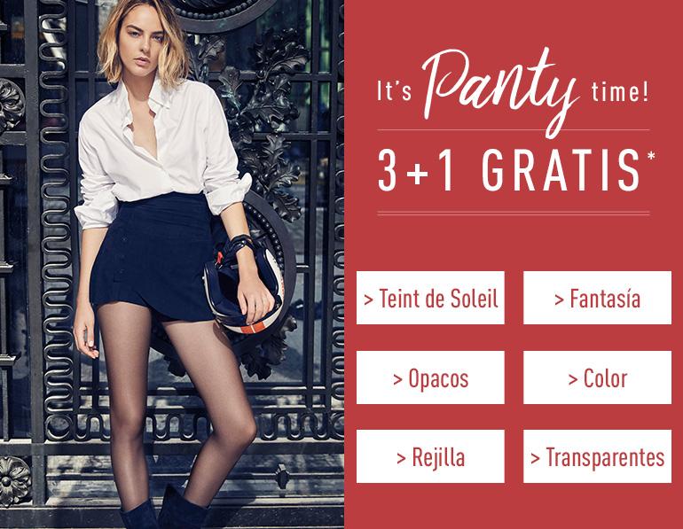 It's panty time ! 3+1 gratis*